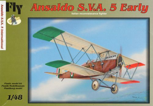Fly 1/48 Ansaldo SVA.5 Early Version # 48018