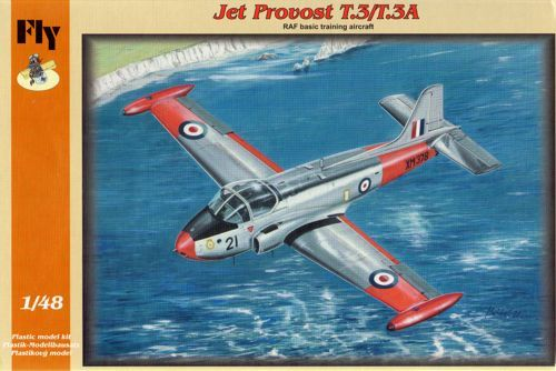 Fly 1/48 BAC Jet Provost T.3 - RAF Basic Training Aircraft # 48017