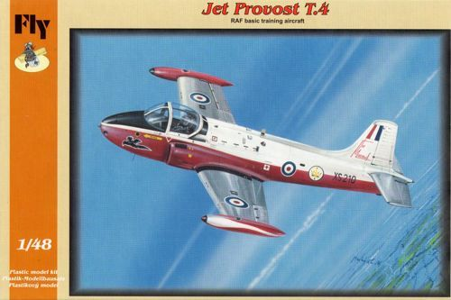 Fly 1/48 BAC Jet Provost T.4 - RAF Basic Training Aircraft # 48019