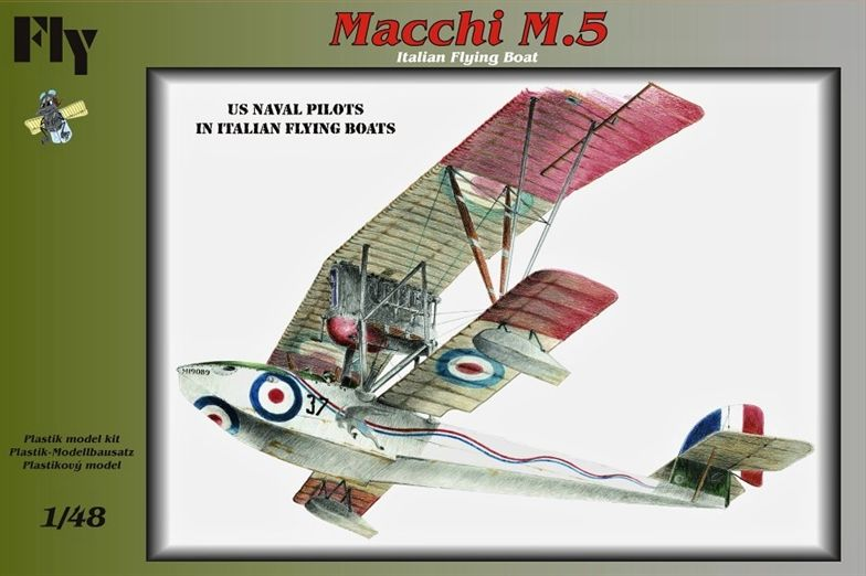 Fly 1/48 Macchi M.5 Flying Boat # 48009
