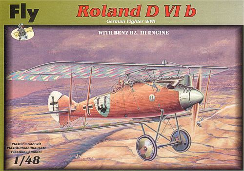 Fly 1/48 Roland D VI b with Benz Bz.III Engine # 48008