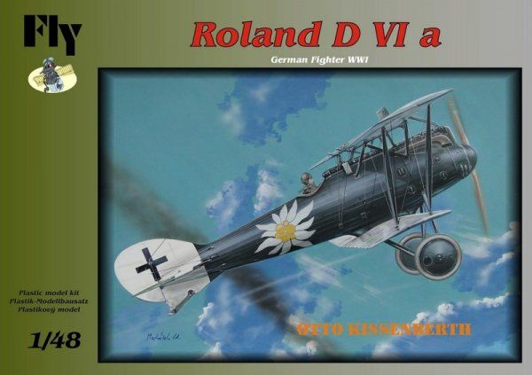 Fly 1/48 Roland D VIa Otto Kissenberth # 48014