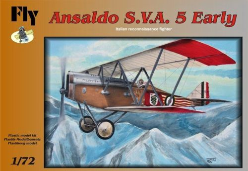 Fly 1/72 Ansaldo S.V.A. 5 Early # 72001