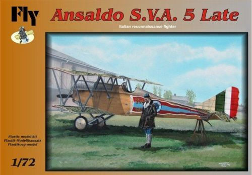 Fly 1/72 Ansaldo S.V.A. 5 Late # 72002