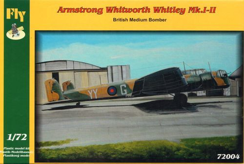 Fly 1/72 Armstrong-Whitworth Whitley Mk.I-II # 72004