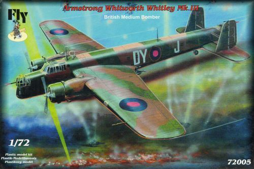 Fly 1/72 Armstrong-Whitworth Whitley Mk.III # 72005