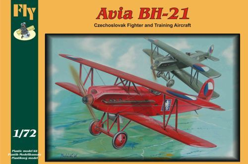 Fly 1/72 Avia BH-21 (Czechoslovak Fighter & Trainer) # 72011