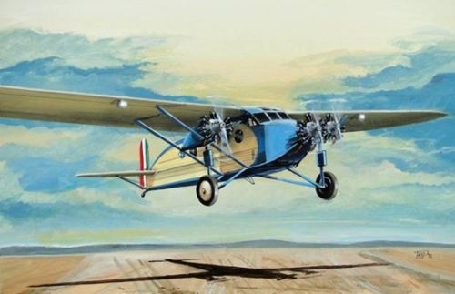 Fly 1/72 Caproni Ca. 101 w/ 7 cylinder engine # 72013