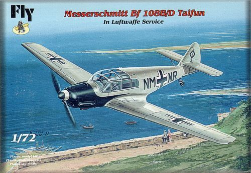 Fly 1/72 Messerschmitt Bf-108B/D Taifun in Luftwaffe Service # 72028