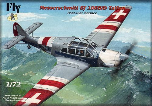 Fly 1/72 Messerschmitt Bf-108B/D Taifun Post-War Service # 72029