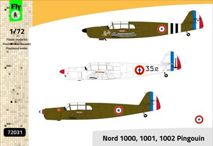 Fly 1/72 Nord 1000/1001/1002 Pinouin # 72031