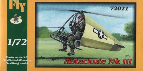 Fly 1/72 Rotachute Mk.III (US, England - 1942) # 72021