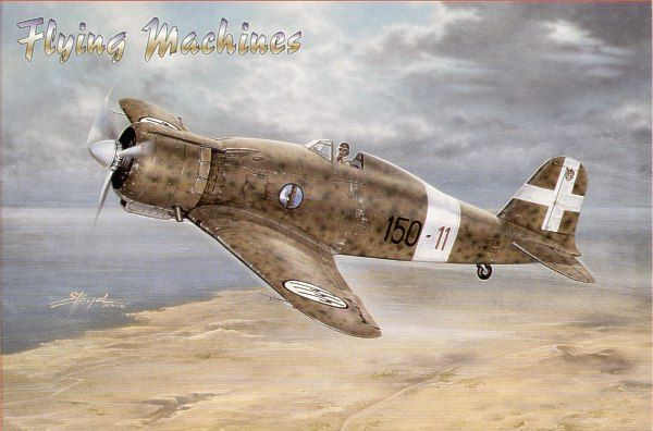 Flying Machines 1/48 Fiat G.50 Bis/A.S. # 48002