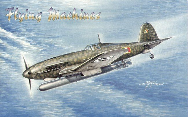 Flying Machines 1/72 Fiat G.55 Silurante # 72003