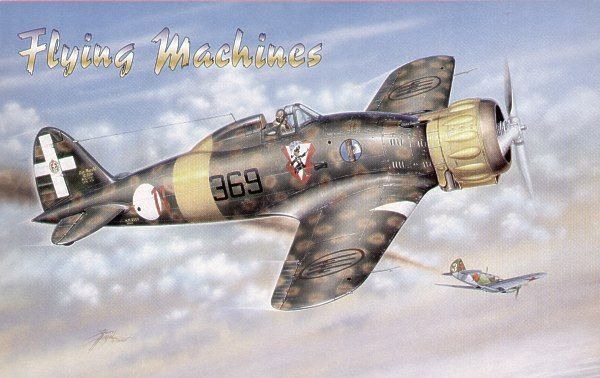 Flying Machines 1/72 Macchi Mc.200 Serie VII # 72002