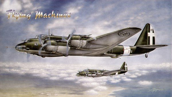 Flying Machines 1/72 Piaggio P.108B I Serie Bruno Mussolini # 72