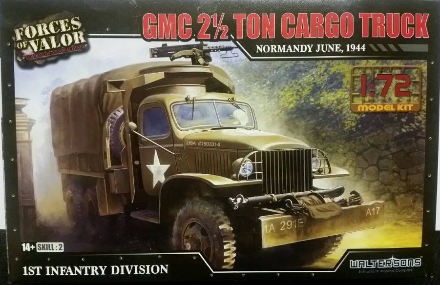 Forces of Valor 1/72 GMC 2 1/2 ton Cargo Truck - Normandy June, 1944 # 873006A