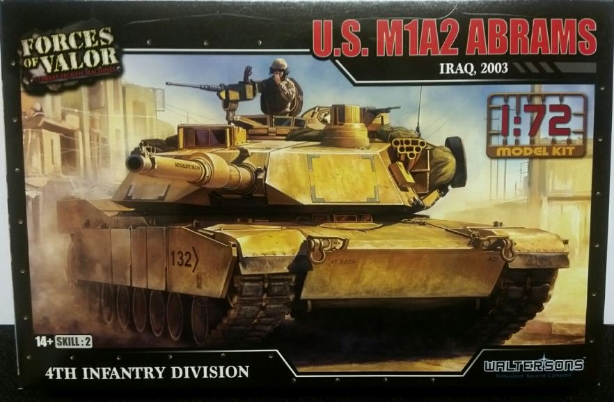Forces of Valor 1/72 U.S. M1A2 Abrams - Iraq, 2003 # 873005A