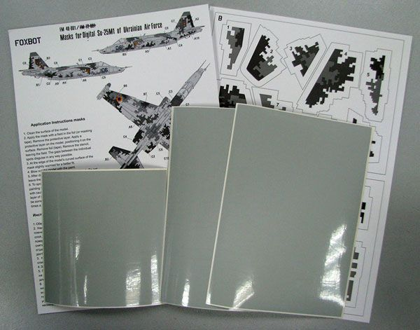 Foxbot Decals 1/48 Digital Sukhoi Su-25M1 # FM48001