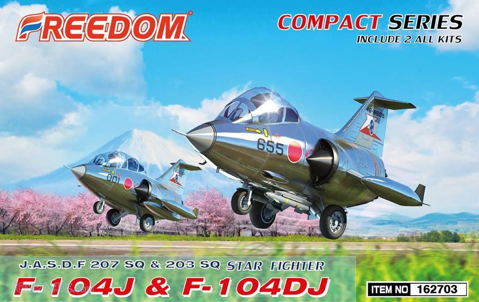 Freedom Models - Lockheed F-104J & F-104DJ Starfighter (2 kits in 1 box) # 162703