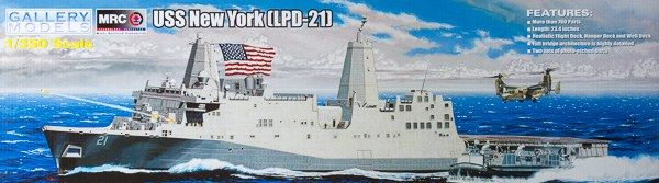 Gallery Models 1/350 USS New York LPD-21 # 64007