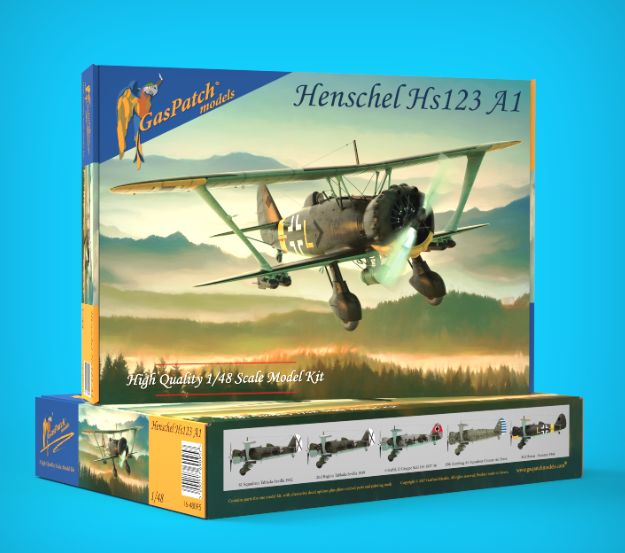 GasPatch Models 1/48 Henschel Hs-123 A1 # 48095