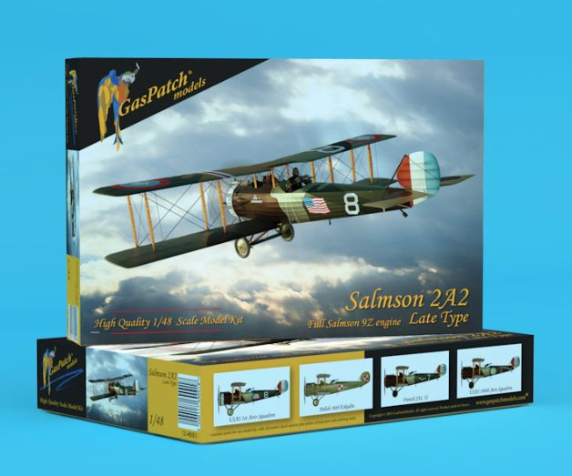 GasPatch Models 1/48 Salmson 2A2 Late Type # 48001