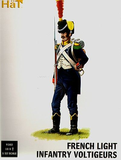 Hat 1/32 Napoleonic French Light Infantry Voltigeurs # 9302