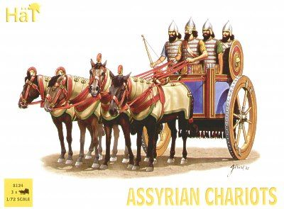 Hat 1/72 Assyrian Chariots # 8124