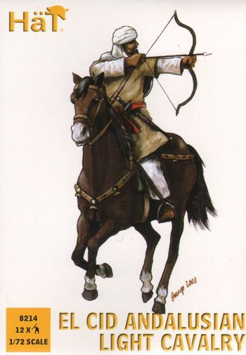 Hat 1/72  El Cid Andalusian Light Cavalry # 8214