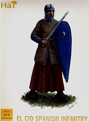 Hat 1/72 El Cid Spanish Infantry # 8176