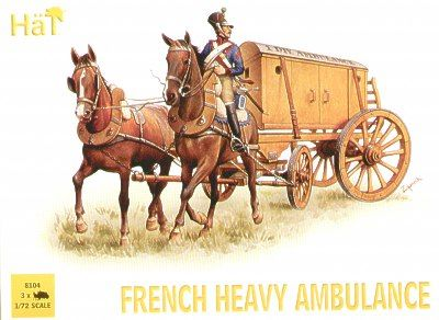 Hat 1/72 Napoleonic French Heavy Ambulance # 8104
