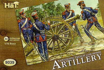 Hat 1/72 Napoleonic French Line Horse Artillery # 8039