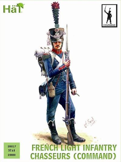 Hat 28mm French Light Infantry Chasseurs (Command) # 28017
