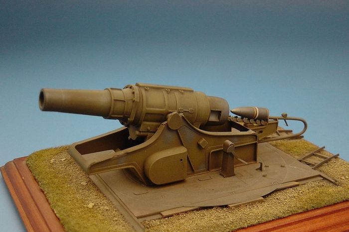 Hauler 1/72 42cm Haubitze M.17(t) Czech/German Heavy Howitzer Resin Construction Kit # P72028