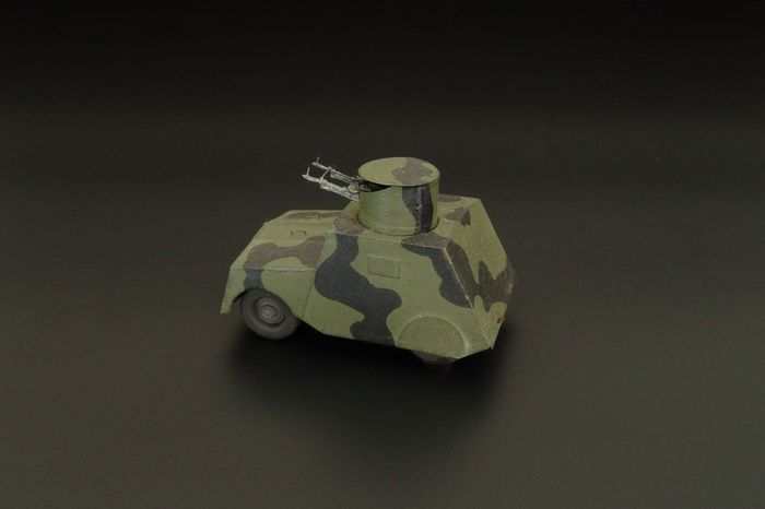 Hauler 1/72 'Beaverette' British Armored Vehicle Resin Kit # P72029