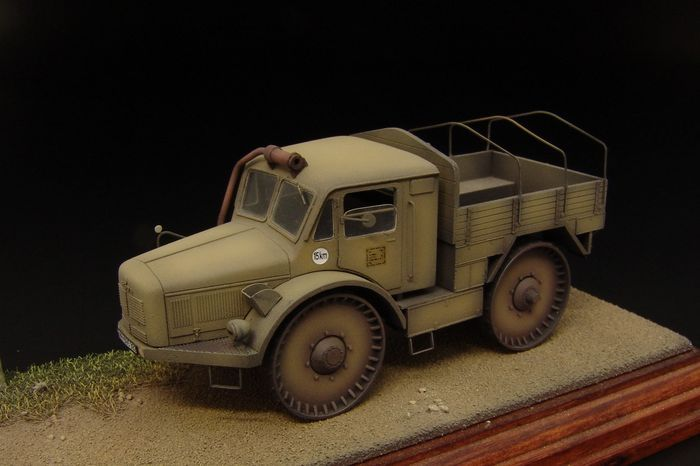 Hauler 1/72 Skoda RSO Wheeled Tractor Resin Construction Kit # P72021