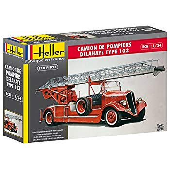 Heller 1/24 Delahaye Type 103 Fire Engine # 80780