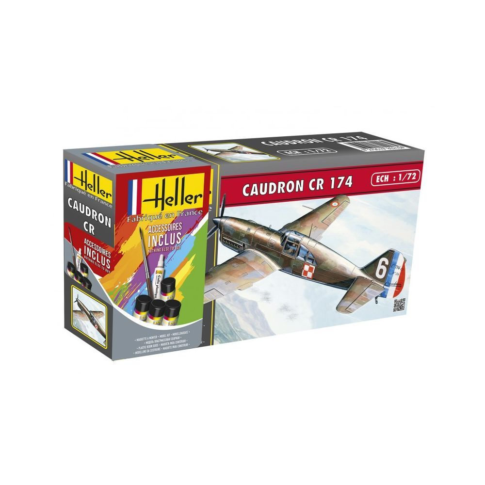 Heller 1/72 Caudron CR 714 Gift Set # 56218