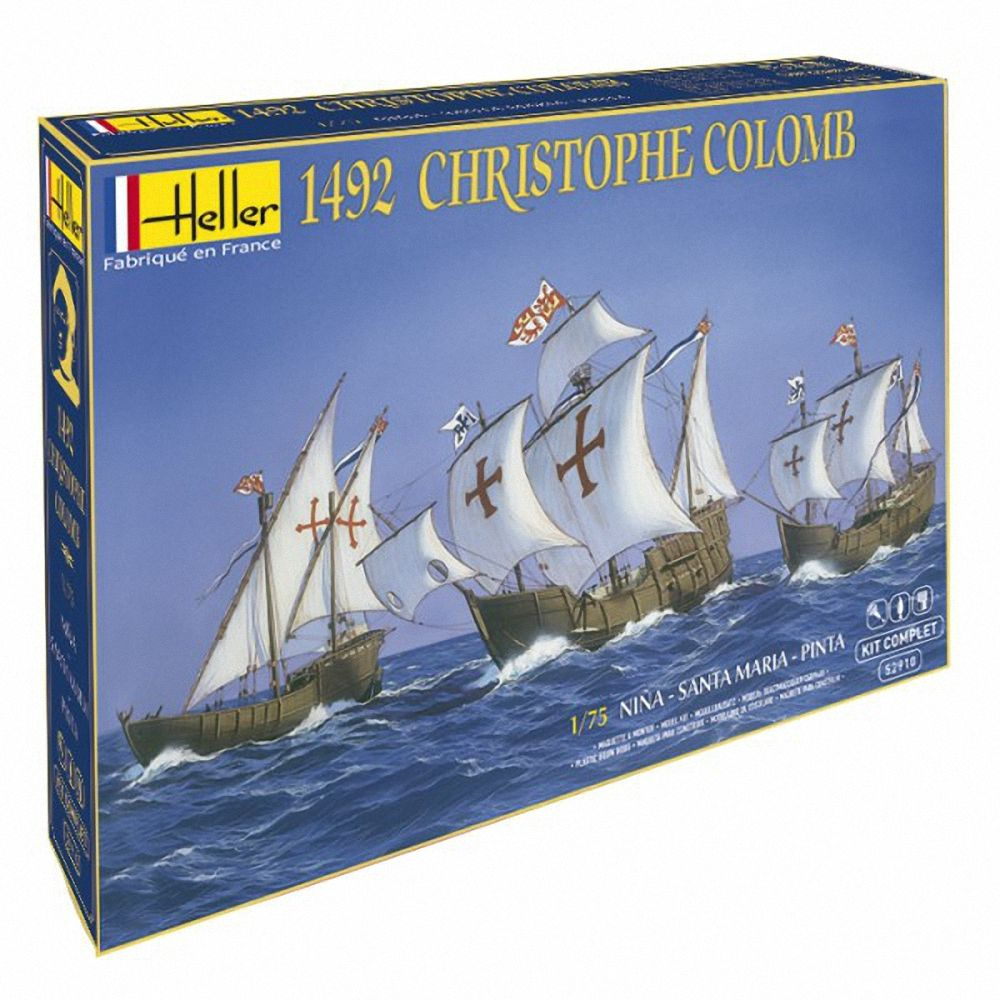 Heller 1/75 Christopher Columbus Gift Set # 52910G