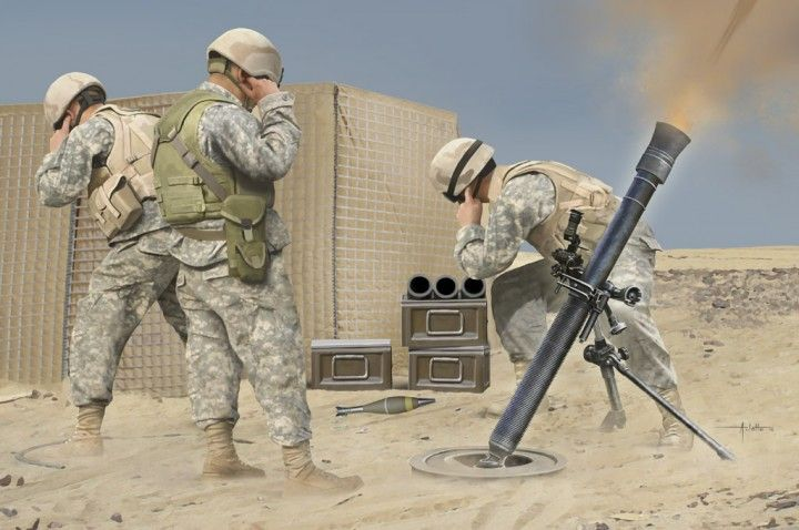 Hobby Boss 1/3 M252 Mortar # 81012