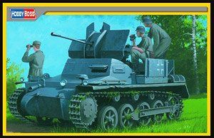 Hobby Boss 1/35 German Flakpanzer 1a with Ammo Trailer # 80147