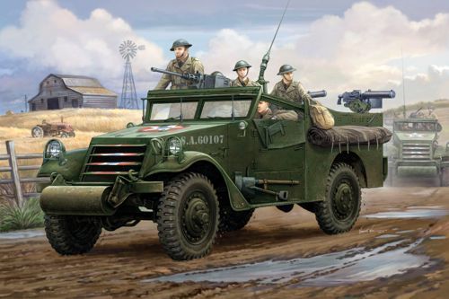 Hobby Boss 1/35 M3A1 White Scout Car early production # 82451