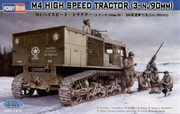 Hobby Boss 1/35 M4 High Speed Tractor # 82407