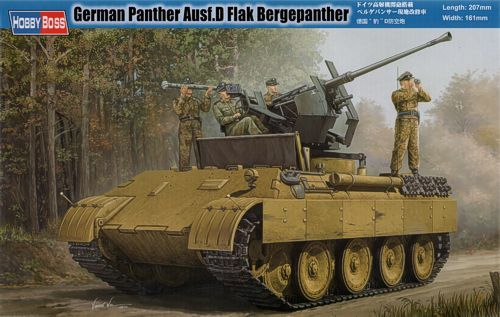 Hobby Boss 1/35 Panther Ausf. D Flak Bergepanther # 82492