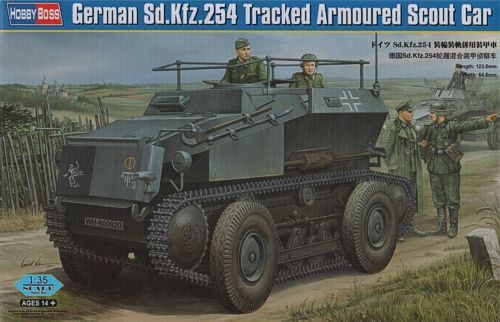 Hobby Boss 1/35 Sd.Kfz. 254 Tracked Armoured Scout Car # 82491