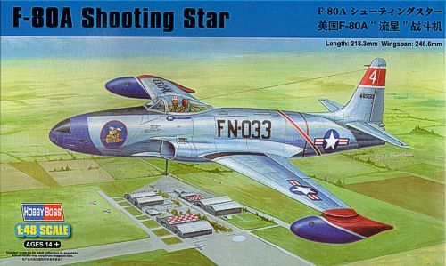 Hobby Boss 1/48 F-80A Shooting Star Fighter # 81723