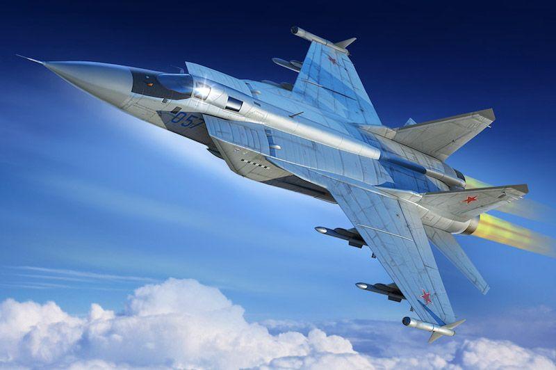 Hobby Boss 1/48 Mikoyan MiG-31M Foxhound # 81755