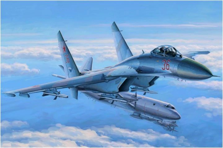 Hobby Boss 1/48 Su-27 Flanker Early # 81712
