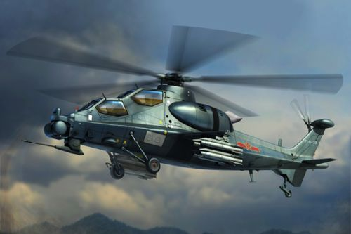 Hobby Boss 1/72 Chinese Z-10 Attack Helicopter # 87253